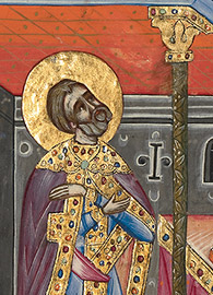 Malnazar and Aghap'ir, David in Prayer