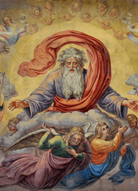 Fidelis Schabet (1813–1874), Ceiling painting in St Jacob Stiftskirche, Hechingen, Germany