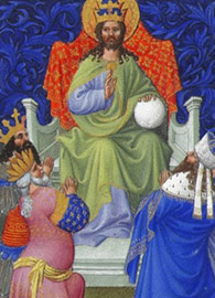 Limbourg Brothers, God Reigns Over All the Earth