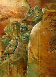 Christa Rosier, Peace Over Jerusalem: Psalm 122