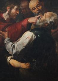 Gioacchino Asserto (1600-1649), Christ Healing the Blind Man (c1640).