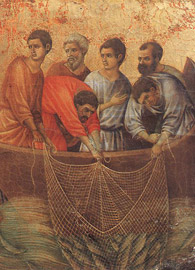 Duccio di Buoninsegna, Christ at the Sea of Galilee