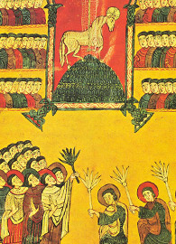 Petrus (scribe) and Martinus (illuminator), The 144,000 Elect