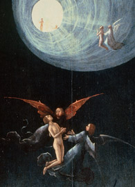 Hieronymus Bosch, The Ascent of the Blessed