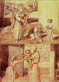 The Prophet Elijah and the Widow of Sarepta