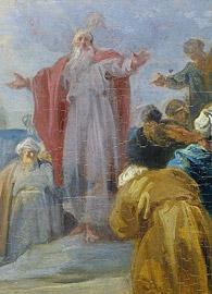 Moses Choosing the seventy Elders