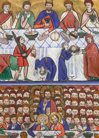 The Martyrdom of John the Baptist and the Miracle of the Loaves and Fishes