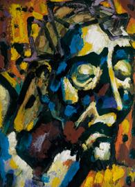 Hans Breinlinger, Man of Sorrows (1958). Hans Breinlinger Museum, Konstanz, Germany.