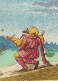 Jeremiah's Vision from the Augsburger Wunderzeichenbuch