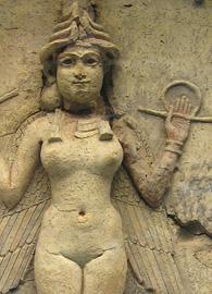 Burney Relief of Ishtar (18th c. BCE)